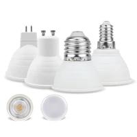 gu10 mr16 led bulb e27 e14 6w 220v beam angle 6 12 degree spotlight for home energy saving indoor light bulb for table lamp