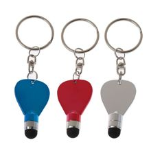1PC Universal Plastic Capacitive Touch Screen Stylus Pen Touch Pen With Keychain for Tablet PC Pad M