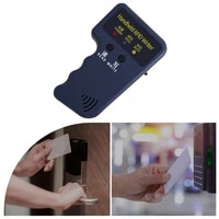rfid card reader copier writer duplicator programmer rewritable id keyfob tags handheld 125khz copier small and easy to carry