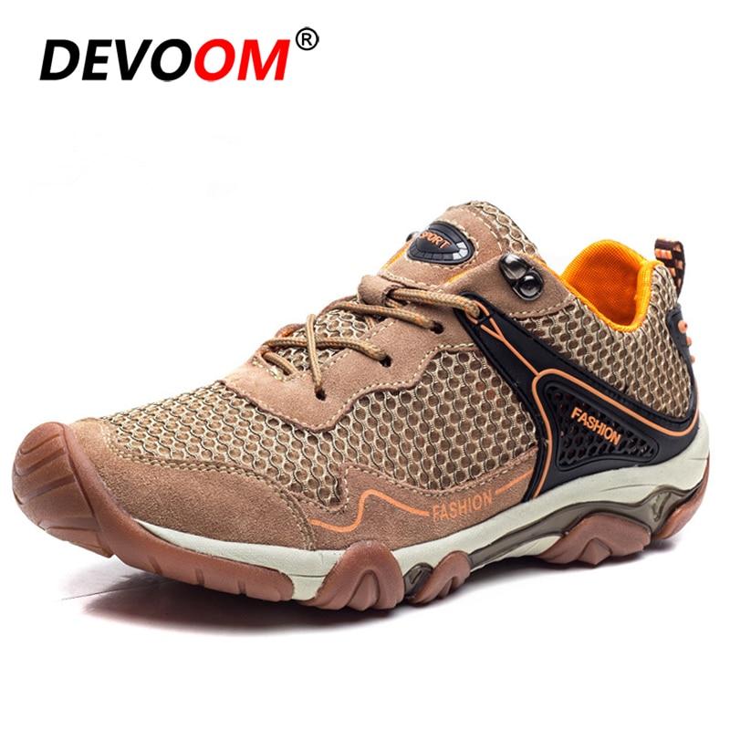 Zapato táctico de Camping para verano 2020, calzado deportivo para senderismo y deportes al aire libre, zapatos de hombre de malla transpirable para escalada de montaña, Trekking, Zapatillas para hombre