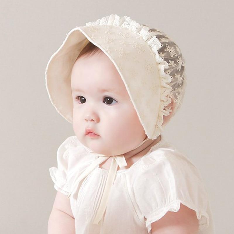 Летняя одежда для новорожденных детей кружевной Солнцезащитная шляпка для детей ясельного возраста детская одежда для мальчиков и девочек...