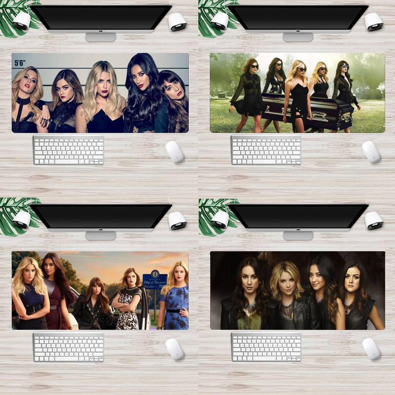 Pretty Little Liars PLL TV Show Large Mouse pad PC Computer mat XL Large Gamer Keyboard PC Desk Mat Takuo Tablet Mousepads