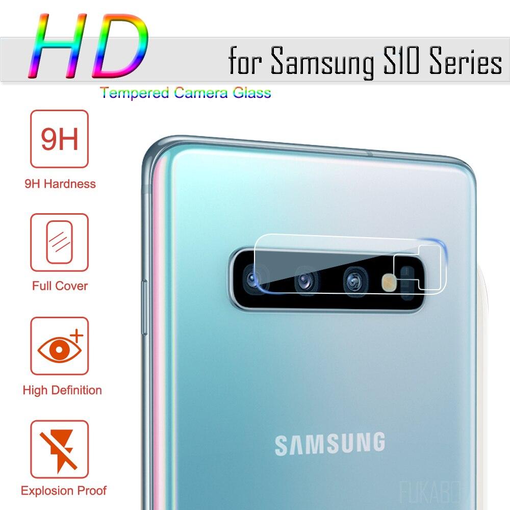 Закаленное стекло для samsung Galaxy A10 A50 A20 S10 S9 Plus, Защитное стекло для объектива камеры, Защитное стекло для samsung S10E S8 Plus