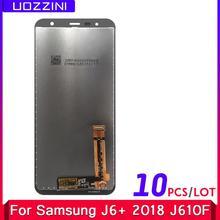 Écran tactile Lcd de remplacement, pour Samsung Galaxy J6 plus 2018 J610 SM-J610F J610FN SM-J610F, 10 pièces/lot