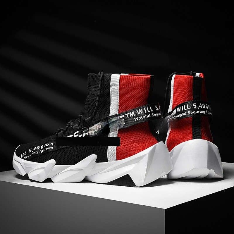 Zapatillas deportivas gruesas para Hombre, tenis de marca, calzado de atletismo