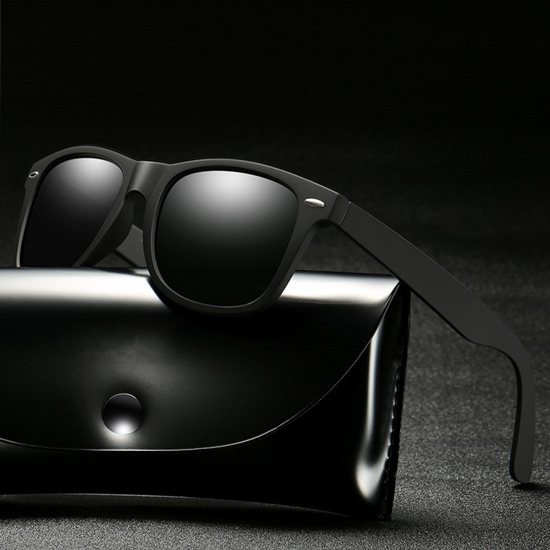 TR90 Polarized Sunglasses Men Women Driving Sun Glasses Square Style Rays 2020 New Brand Designer Go