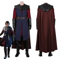 star cosplay the clone anakin skywalkeri cosplay costume uniform outfits with cloak halloween carnival suit