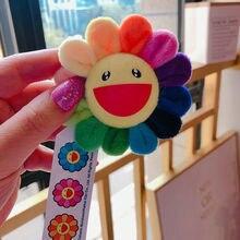 Kinder Brosche Sunflower Anhänger Entzückende Rianbow Brosche Takashi Murakami Blume Kissen 60cm 2ft Kissen Authentische Gute Junge Geschenke
