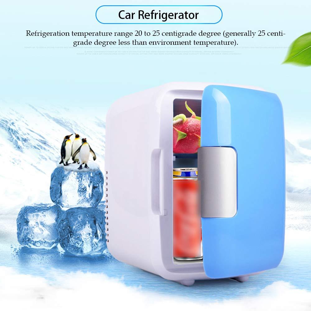 Mini nevera de Casa portátil de 4L, refrigerador eléctrico pequeño de doble...
