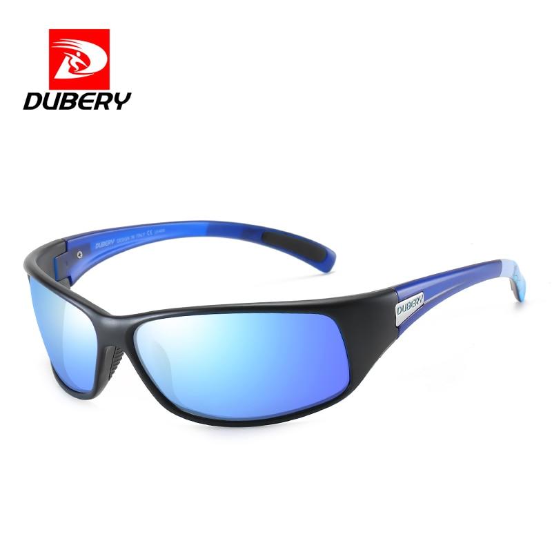 DUBERY Driving Square Polarized Sunglasses for women men Mirror Lens Sports Eyewear Sun Glasses UV40