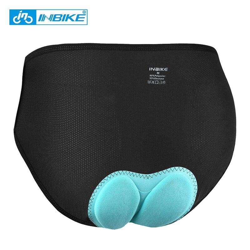 INBIKE женское нижнее белье для горного велосипеда спортивные трусы для велоспорта треугольные Трусы Дышащие 3D Мягкие Шорты для велосипедистов MTB