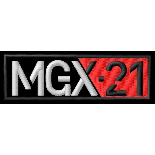 Parche de hierro MOTO GUZZI MGX21 toppa ricamata gesticker tamaño 9,30 cm