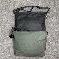 2021 spring new functional wind crossbody shoulder bag large capacity men and women shoulder school bag