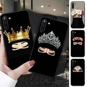 Hijab niqab islam Muslimah Girl black soft phone case for Samsung galaxy J2 J2 J3 J4 plus J5 prime J7 2016 J6 note 5 8 9 10