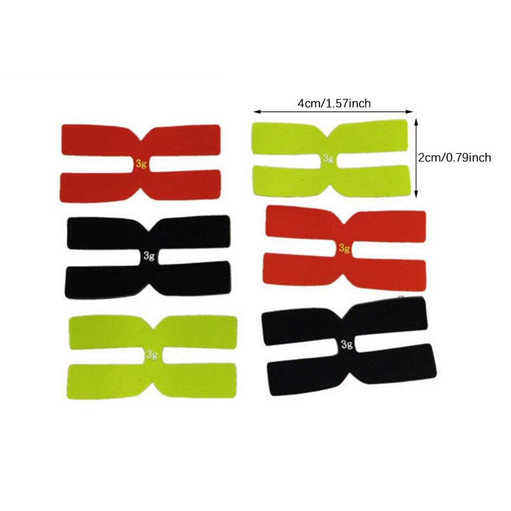 3g Полоски для балансировки веса ракетки для теннисной ракетки набор H-образной свинцовой ленты силиконовый балансир для ракетки аксессуары...