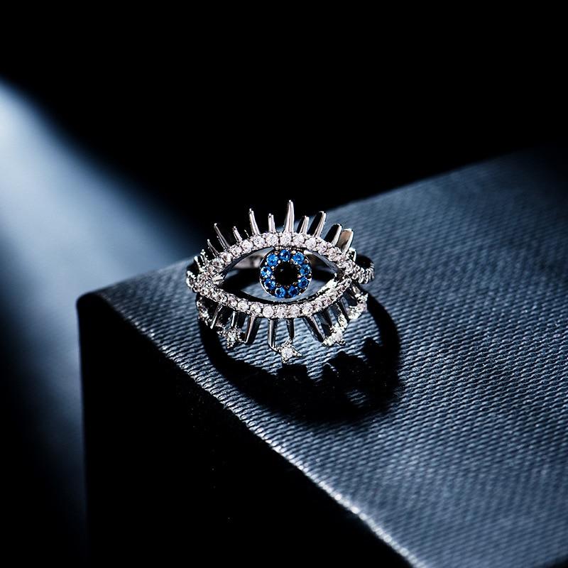 Новинка-100-блестящее-серебряное-кольцо-lucky-eye-Женское-кольцо-с-французским-светом-роскошное-выразительное-кольцо-для-банкета