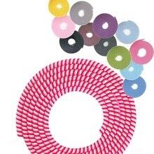 1.5M Multiuso Colori Filo di Corda del Cavo di Protezione USB Cavo Dati Avvolgicavo Linea di Protezione del trasduttore auricolare Della Copertura del Vestito Del Manicotto della Molla spago
