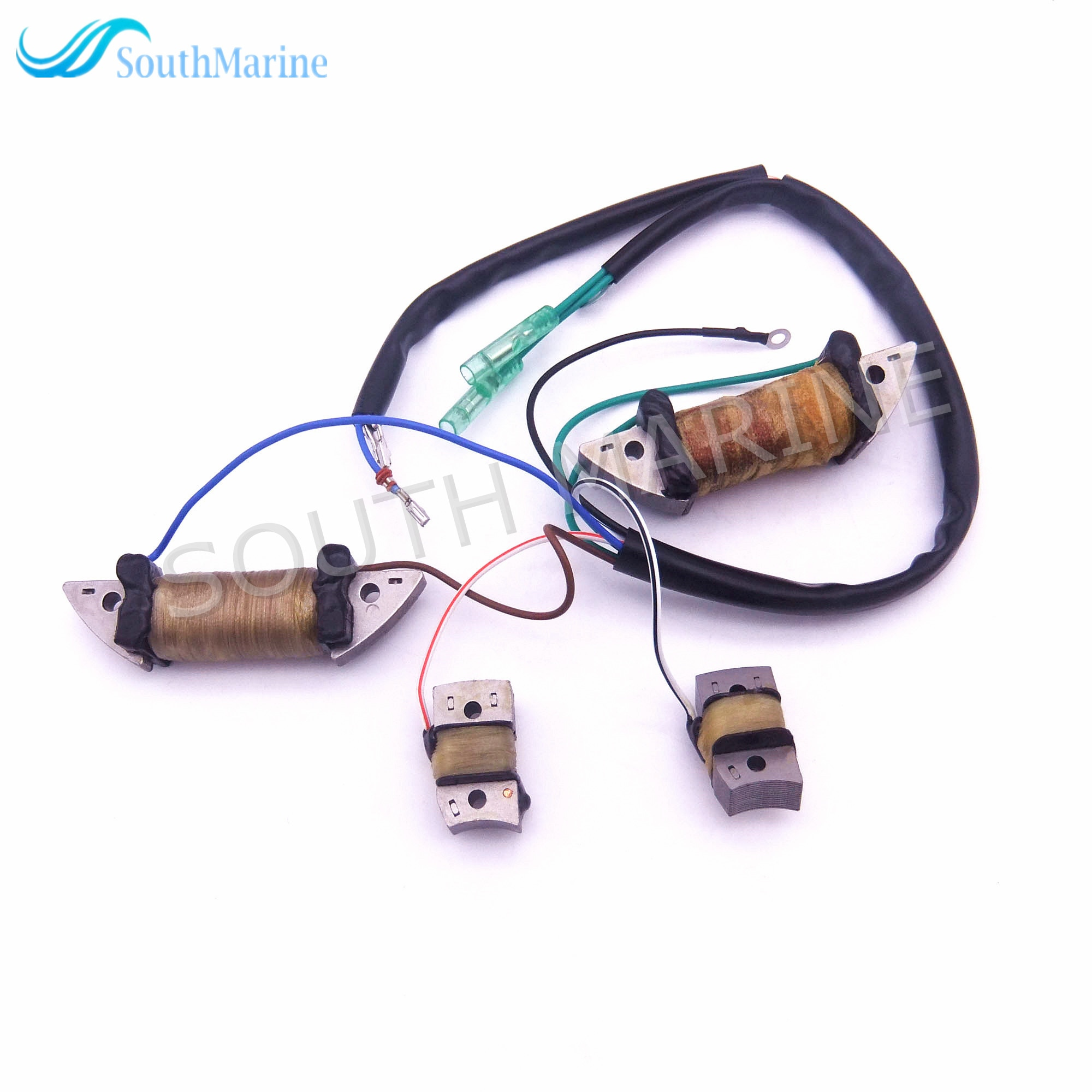 Boat Motor 6F5-85520-10 Charger and 6F5-85533-10 Lighting and 6F5-85580-10 6F5-85580-20 Pulser Coil