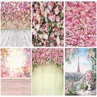 vinyl photography backdrops prop flower wall wood floor wedding theme photo studio background 1911 cxzm 17