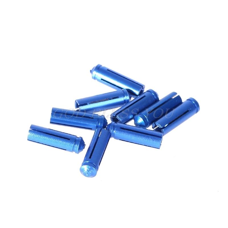 9 unids/lote de dardos de aleación de aluminio, protectores de vuelo, protector de cola de dardo, accesorios de dardos de punta suave de acero, 5 colores