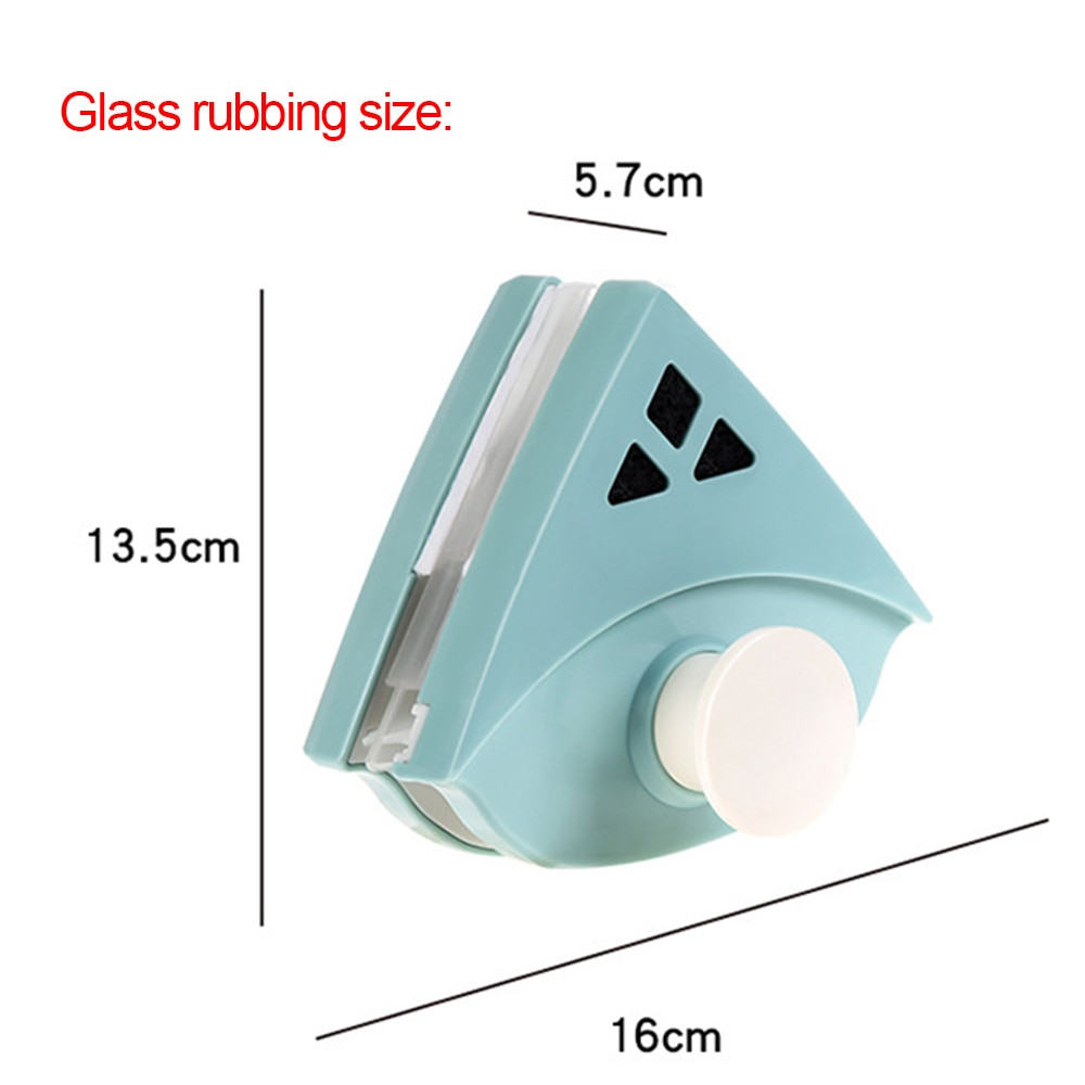 Window Brush Glass Magnetic Cleaner Brush Tool Window Wipe Double Side Magnetic Glass Brush for Washing Household Cleaning Tool enlarge