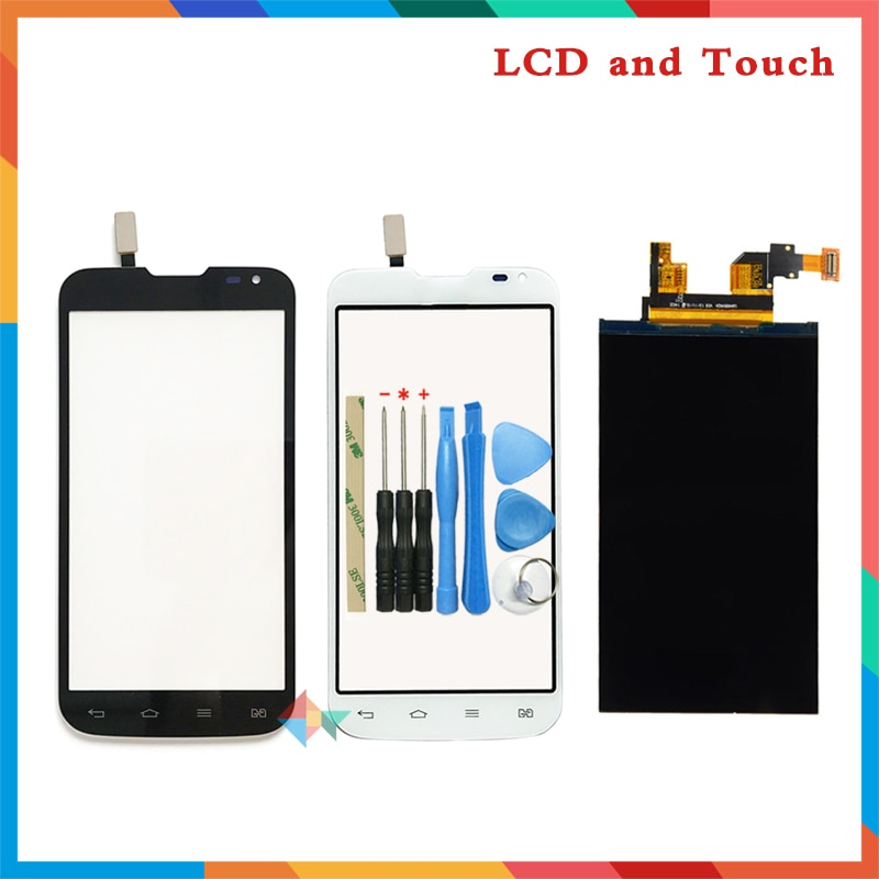 "Alta calidad 4,7 ""para LG Optimus Series III L90 tarjeta Sim Dual D410 pantalla Lcd + Sensor de Digitalizador de pantalla táctil + herramientas"