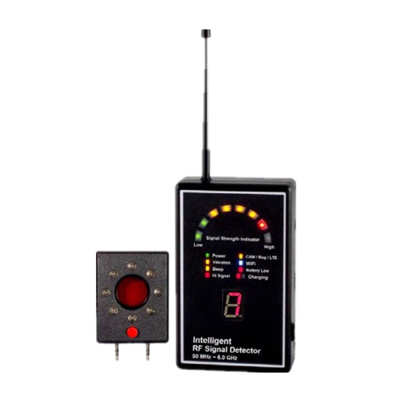 New Arrival RF Signal Detector Lens Finder Expert 3G 2100 Detection 2G/3G/4G GPS Tracker Bug Detector Anti Candid Full Range