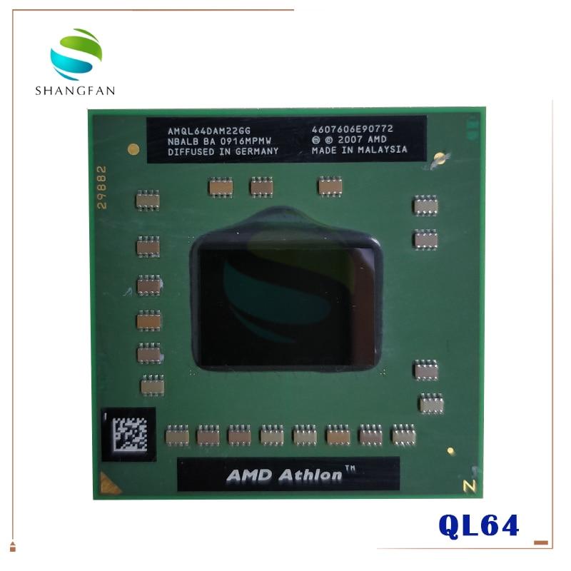 AMD Athlon 64 X2 QL-64 QL 64 QL64 2,1 GHz Dual-Core Dual-Gewinde CPU Prozessor AMQL64DAM22GG Buchse s1