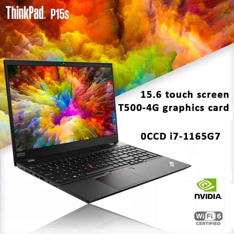 Promo Lenovo ThinkPad P15s 15.6-inch laptop  i7-1165G7 FHD touchscreen  32GB RAM 2T SSD Fingerprint recognition Win10 backlit keyboard