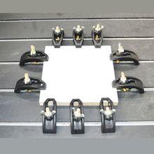 1set 88mm Bogen Platte Sets CNC Gravur Maschine Teile Druck Platte Clamp Leuchte Für T-slot Arbeits tabelle