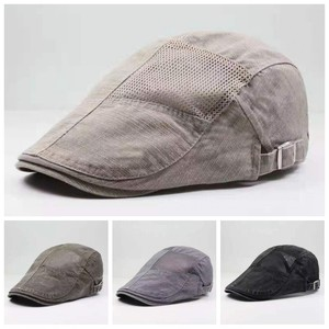 New Unisex Berets Net Hats for Men Casual Cotton  Fitted Cap for Women Snapback Women and Men's Cap