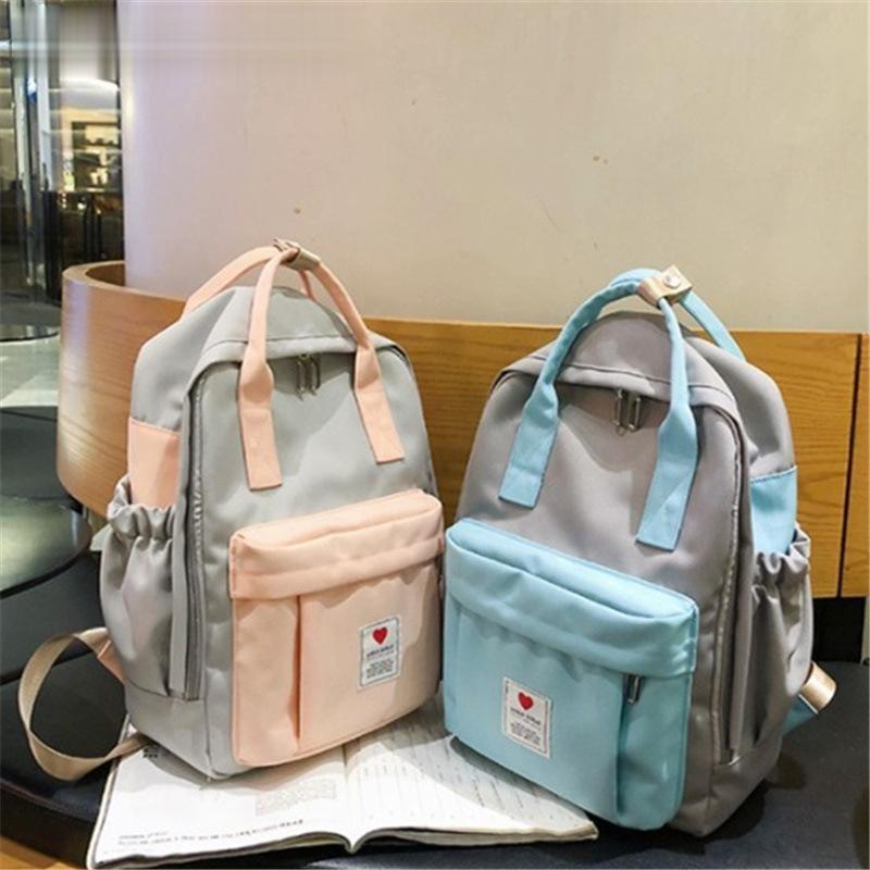 Женский рюкзак для девочек-подростков, новая модная повседневная сумка на плечо для школьников, милые дорожные рюкзаки, лето 2020
