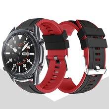 Bracelet en Silicone pour montre Samsung Galaxy 46mm/montre galaxie 42mm/montre galaxie 3 45MM 41MM montre mart