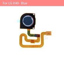 Original for LG K40 Home Key Fingerprint Button Flex Cable Replacement Part - Blue