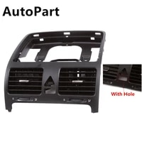 1k0 819 728 e 1pcs oem dash board central air outlet vent with hole for vw jetta mk5 golf mk5 rabbit 1k0 819 728 e 1k0819728h