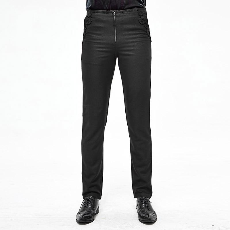 Business Style Men's Trousers Tight Trousers Party Banquet Slim Pants Formal Suit Pants Men's Casual Pants