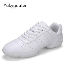 Dance Shoes Children Boy Girl Modern Soft Outsole Jazz Sneakers Aerobics Breathable Lightweight Kids