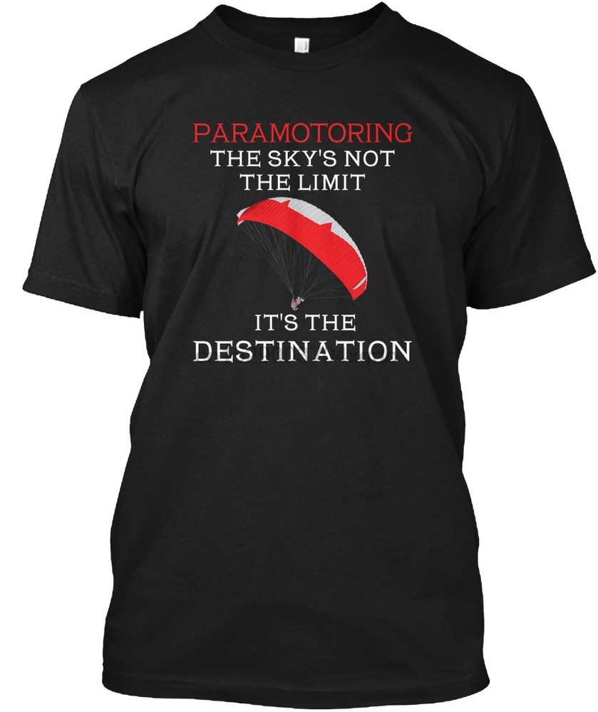 Camiseta paramotaring para hombre, camiseta para mujer