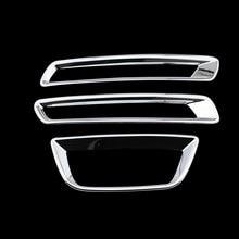 Rear Fog Lamp Fog Light Fog Lights ABS Chrome Cover Trim Sticker For Chevrolet Chevy Malibu 2012 2013 2014 2015 Car Accessories
