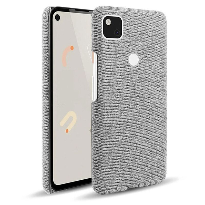 Pixel 4A 4 A Pixel4A 5G Case Cloth texture Leather Hard PC Shockproof Antiskid Cover For Google Pixel 4A 4 A Pixel4A 5G