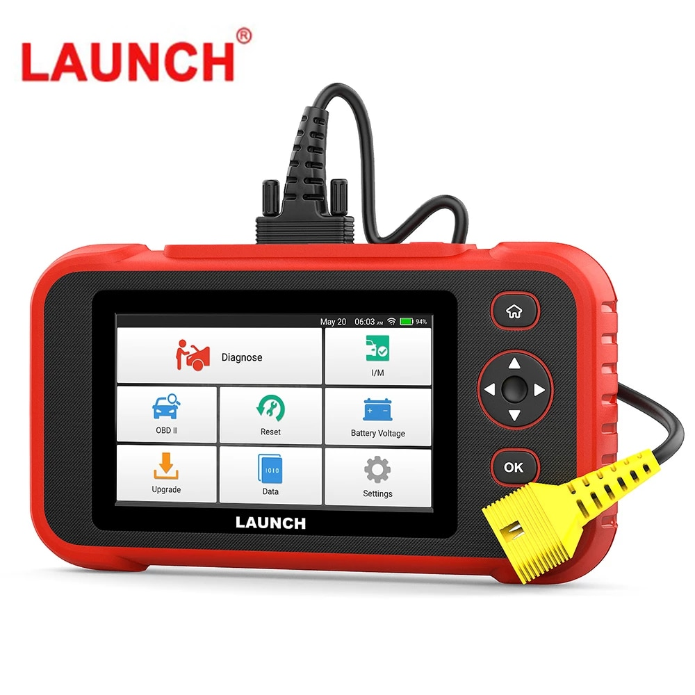 LAUNCH CRP129i Car Diagnostic Tools TPMS Oil 5 Resets Service Code Readers OBD 2 Four System Diagnostic Lifetime Free Update