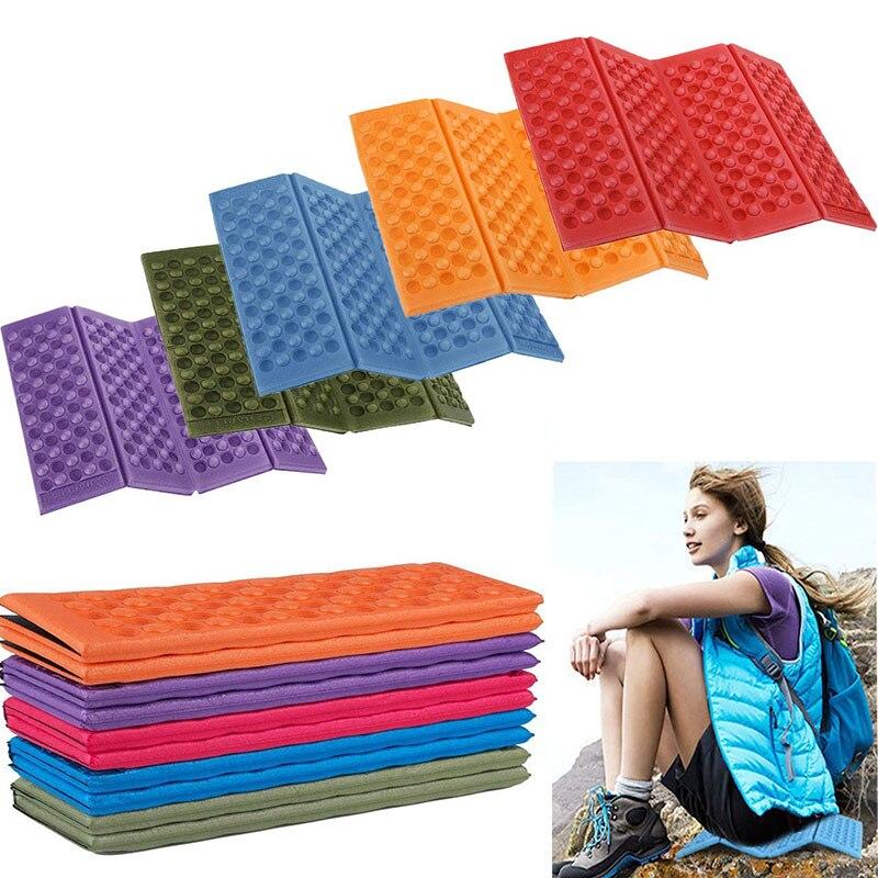 Складной, уличный, для кемпинга мат XPE пена водонепроницаемые, влажность-доказательство пляжное одеяло стул подушка прокладка для сиденья д...
