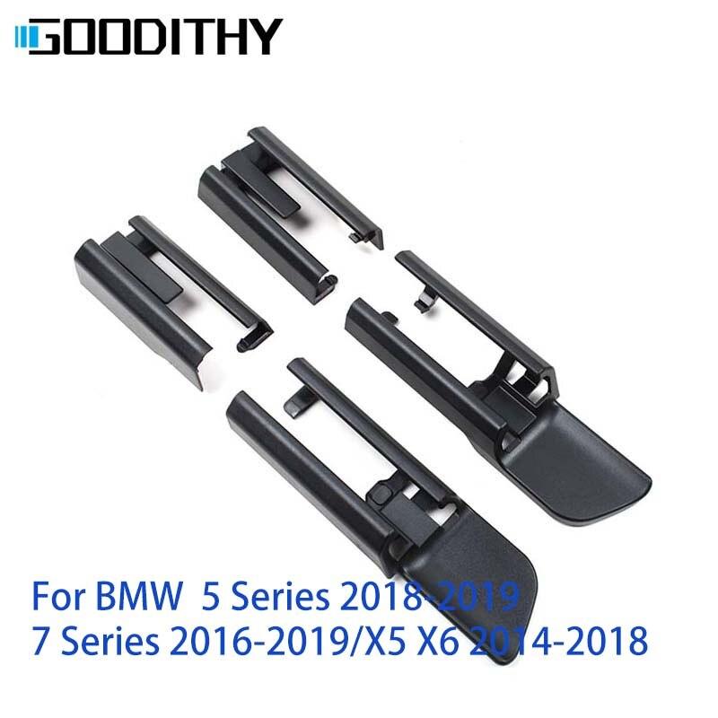 Nuevo LHD RHD negro un conjunto de riel de asiento de coche riel deslizante riel recortado para BMW 5 series 7 series G30 G38 g-chasis