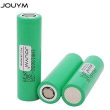 JOUYM 18650 batería 3,7 V 2500mAh INR18650 25R 20A batería recargable de alta descarga de iones de litio 18650