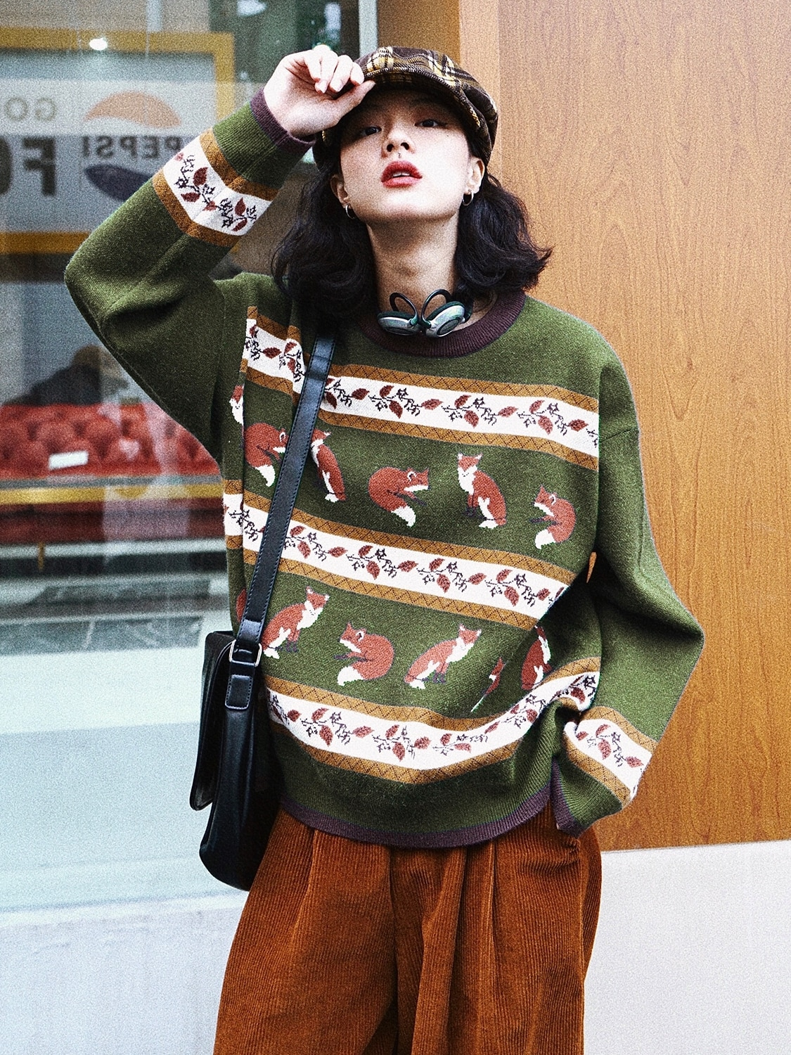 Vintage Sweater Women's Autumn and Winter New Thickened Outer Wear Sweater Pullover Top fall 2020 women clothing  winter clothes enlarge