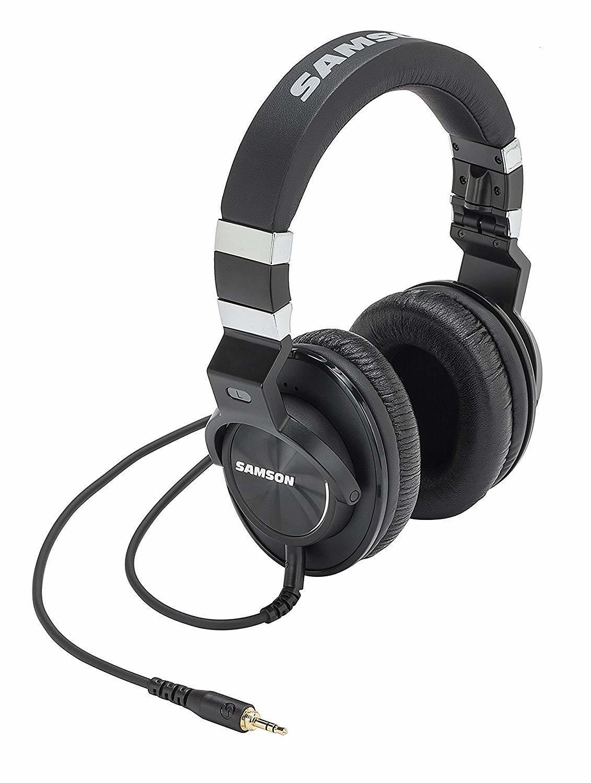 Samson Z25, auriculares con la espalda cerrada, auriculares con aislamiento de ruido para Monitor de estudio sobre la oreja, auriculares para músicos y amantes de la música
