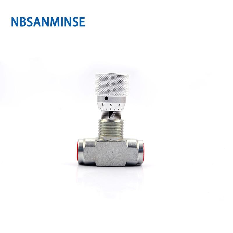 صمام خانق من نوع STB ، G1/4 3/8 1/2 3/4 1 ، أجزاء مهندس صناعي من الصلب الكربوني NBSANMINSE