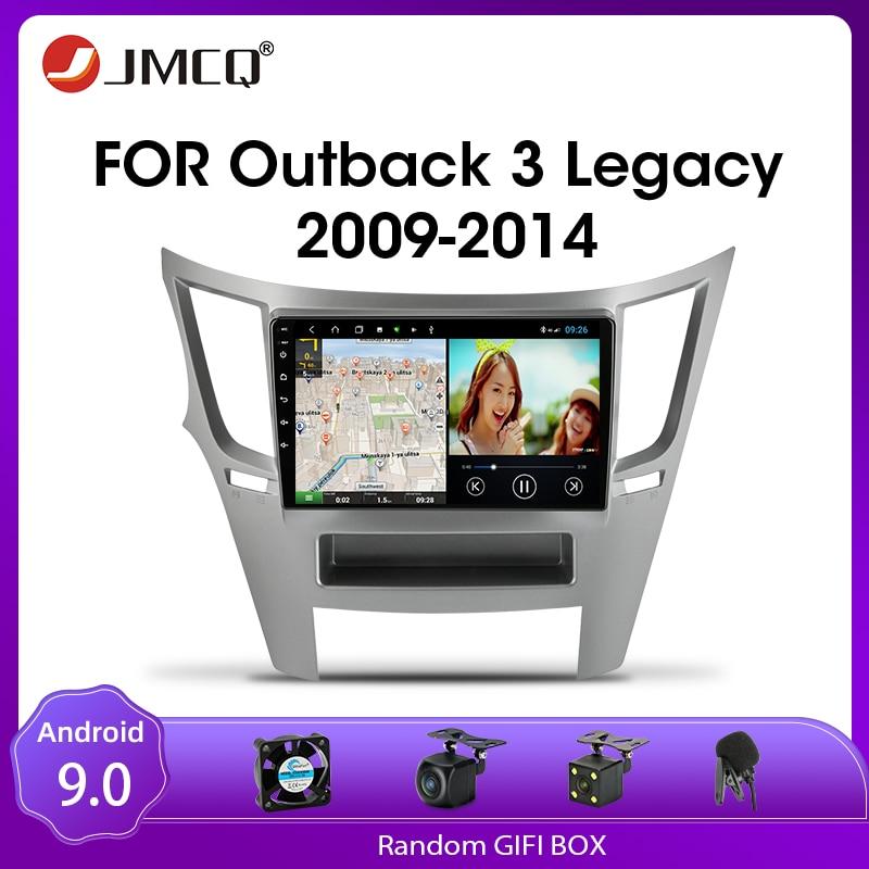 JMCQ Android 9.0 Car Radio For Subaru Outback 3 4 Legacy 5 2009-2014 Multimedia Video Player 2din DSP GPS Navigaion Split Screen недорого
