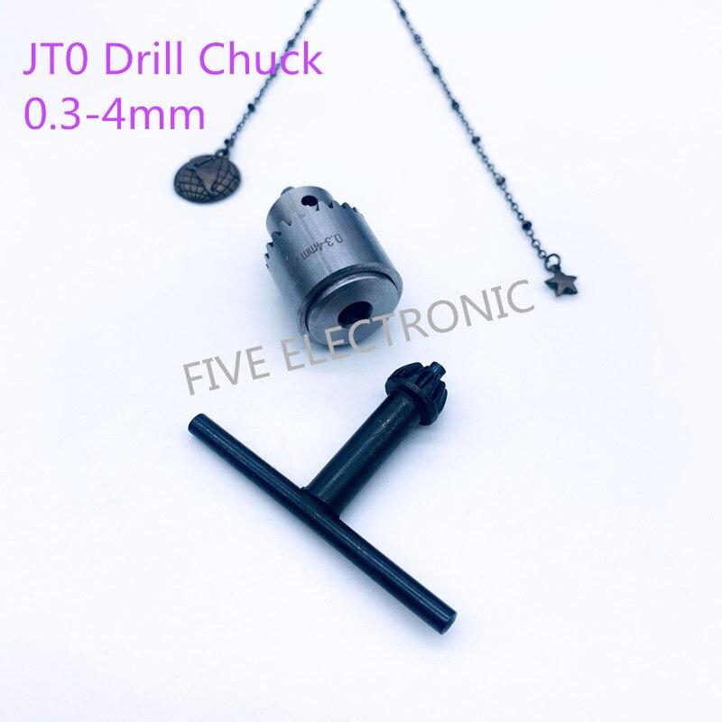 Jt0 (0.3-4mm) mandril de broca chave inglesa 3.17/4/5/6/8/10mm conjunto de acoplamento para diy furadeira elétrica collet/moagem elétrica