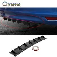 Overe 1PC Car Rear Bumper Modified Spoiler Shark Fin Styling For Mercedes W205 W203 Volvo XC90 S60 XC60 V40 Hyundai tucson i30